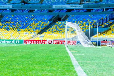rio: RIO DE JANEIRO, BRAZIL: CIRCA NOVEMBER 2013: The famous Maracana Stadium in Rio de Janeiro, Brazil
