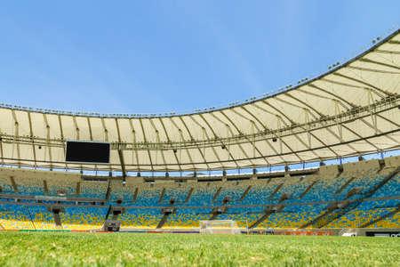 rio de janeiro: The Maracana Stadium located in Rio de Janeiro, Brazil