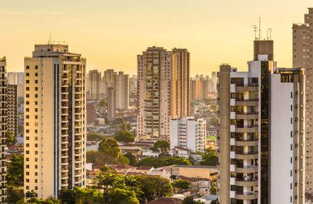 latin america: Amazing Skyline of Sao Paulo, Brazil - Latin America Stock Photo