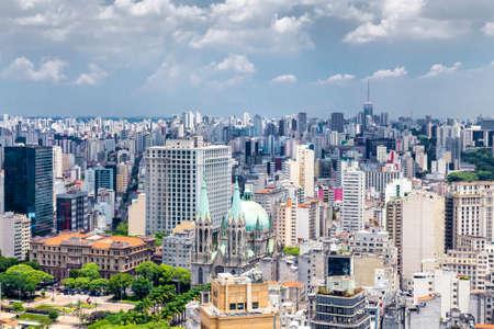 latin america: Skyline of Sao Paulo, Brazil - Latin America
