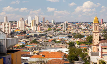 latin america: Buildings in Sao Paulo, Brazil - Latin America Stock Photo