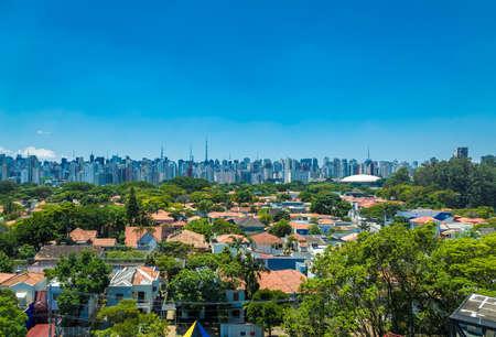 View of Sao Paulo, Brazil Stock Photo
