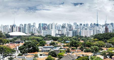 latin america: Amazing Sao Paulo Skyline, Brazil - Latin America