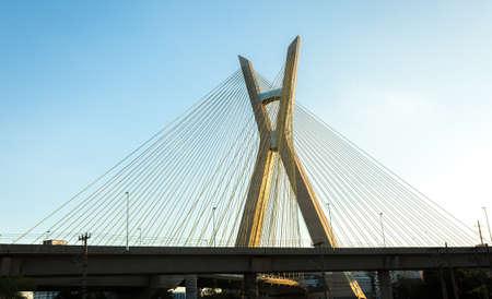 bridge: Cable-stayed bridge in Sao Paulo, Brazil