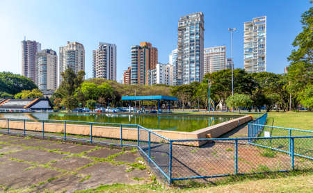 residencial: Sophisticated residencial buildings in Sao Paulo, Brazil Stock Photo
