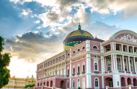 teatro: Teatro Amazonas en Manaus, Brasil