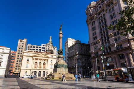 manuel: Father Manuel da Nobrega Square in Sao Paulo, Brazil