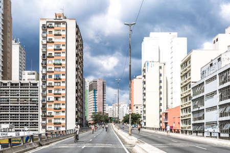 silva: Costa e Silva Elevated Road Minhoco in Sao Paulo, Brazil