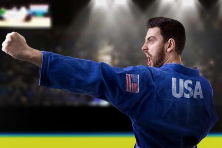 jiu jitsu: American Judoka fighter