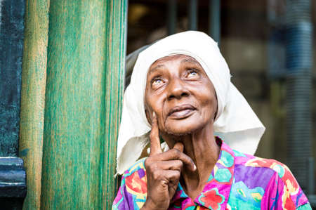 cuban culture: Portrait of a cuban woman Stock Photo