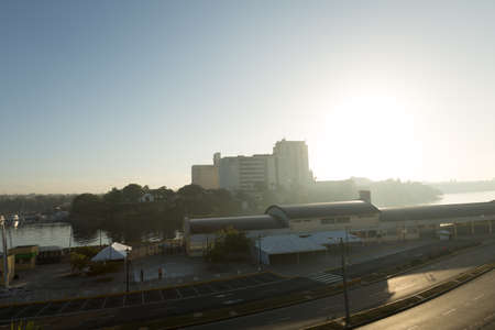 domingo: Harbor of Santo Domingo in Dominican Republic