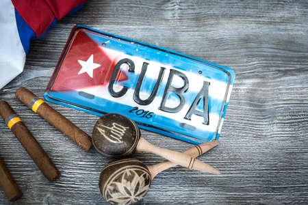 bandera cuba: concepto cubana