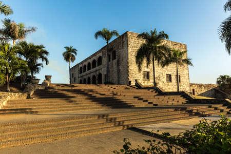 alcazar: Alcazar de Colon in Santo Domingo, Dominican Republic Editorial