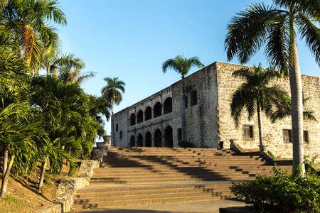 domingo: Alcazar de Colon in Santo Domingo, Dominican Republic Editorial