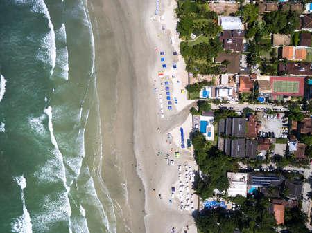 key of paradise: Top View of Top Beach, Bahia, Brazil