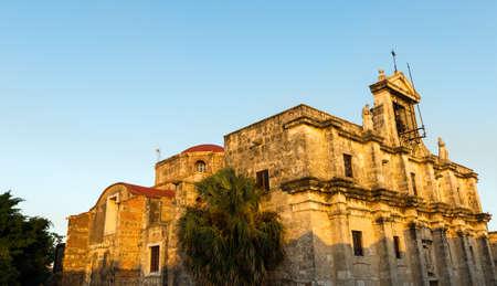 domingo: National Pantheon of the Dominican Republic in Santo Domingo Stock Photo