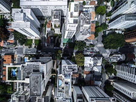 metropolitan: Top view of metropolitan city