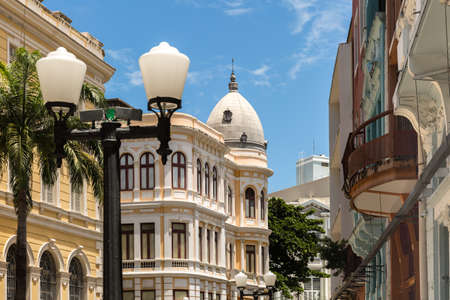 Old Town in Recife, located in Pernambuco State, Brazil Imagens
