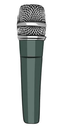 entertaining presentation: microphone