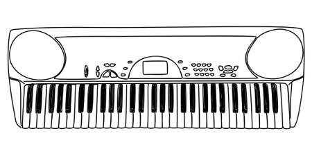 Synthesizer Illustration