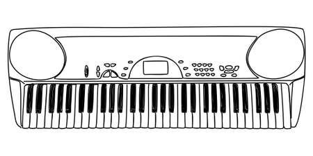 synthesizer: Synthesizer Illustration