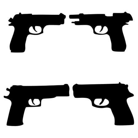 gunfire: pistols