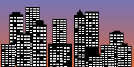 sky scrapers: city panorama