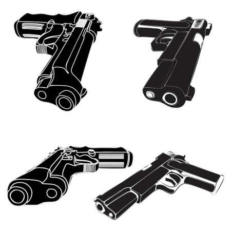 gunfire: pistols group