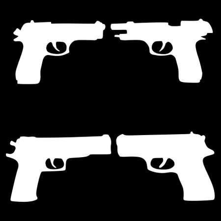 marksmanship: pistols, illustration