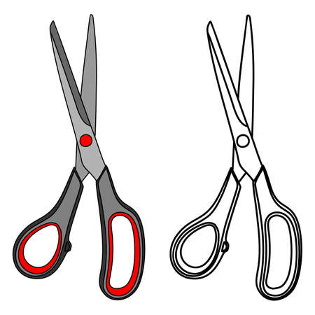 household goods: scissors illustration