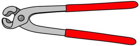 pliers: Pliers Vector, illustration