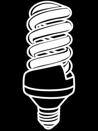 sparingly: illustration of light bulb