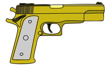 gunfire: pistol