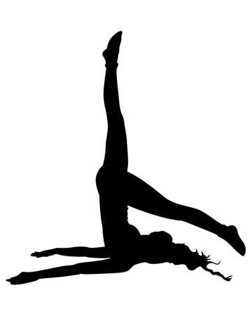 yoga position: Yoga position