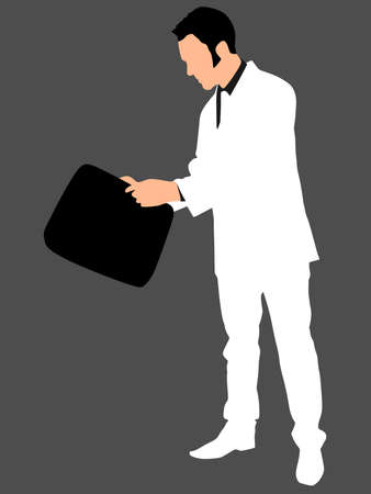 successful businessman: successful businessman, vector