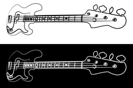 bass guitar Stock fotó - 56175340