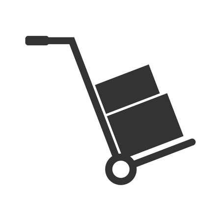 handtruck: Hand truck, icon