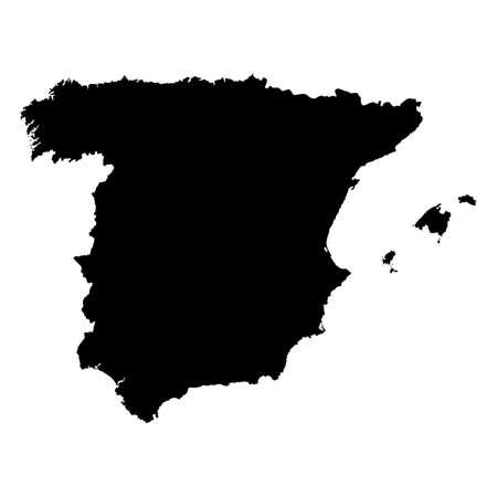 castilla: Map of Spain