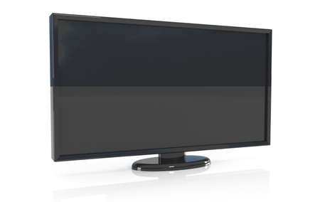 lcd: Plasma, LCD, Oled - screen, 3d illustration Stock Photo