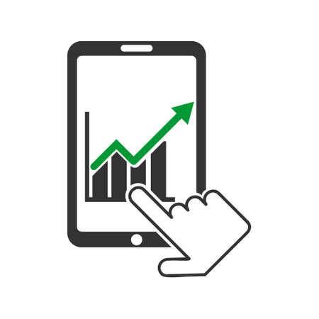 status: Market Status on Mobile