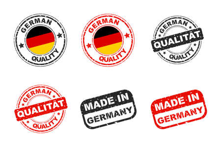 quality icon: German quality stamp, Icon