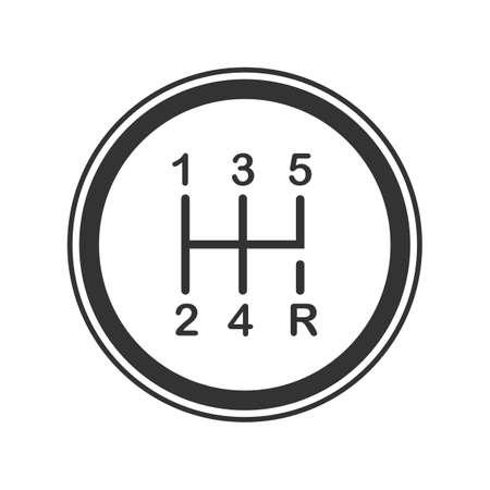 Schalthebel Symbol