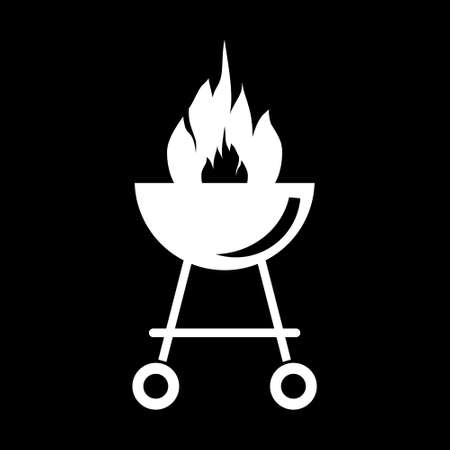 Outdoor grill icon