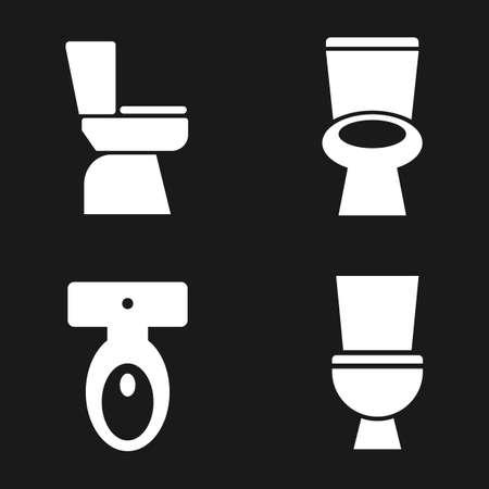 toilet vector icon
