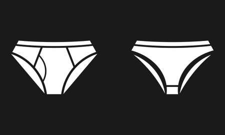 Underwear icons