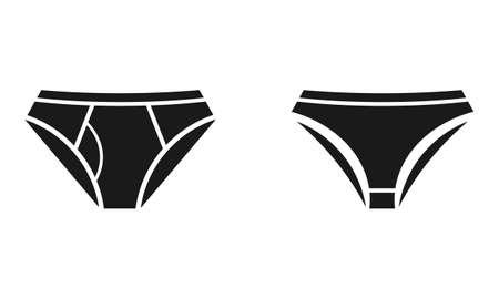 knickers: Underwear icons