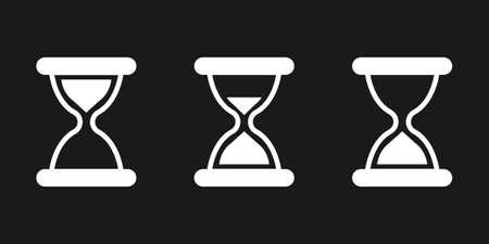 Hourglass icon Stock fotó - 61925236