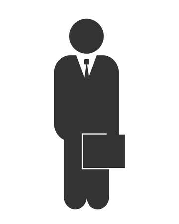 Businessman icon Stock fotó - 63424682