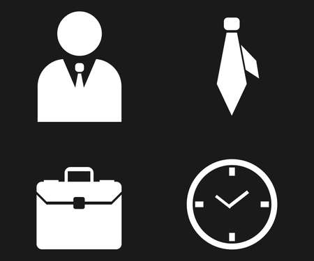 business icons 矢量图像