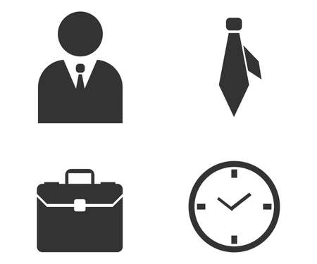 business icons 向量圖像
